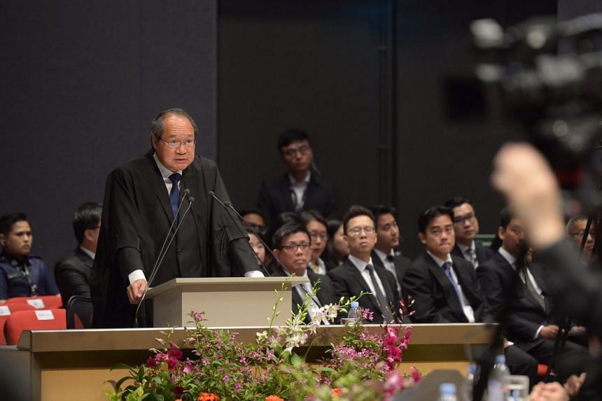 Attorney-General Lucien Wong said the AGC cannot take for granted the public confidence that it commands as an institution.