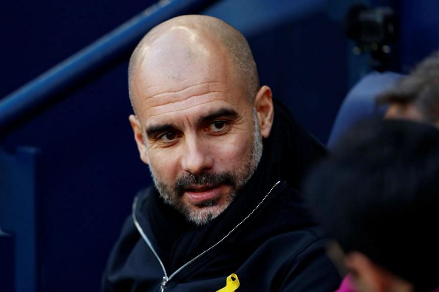 Manchester City manager Pep Guardiola refuses to countenance the possibility that City can win all four competitions.