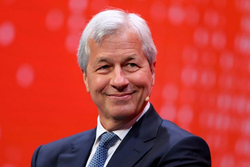 Dimon (above), known for his candid comments, had earlier slammed the viability of bitcoin.