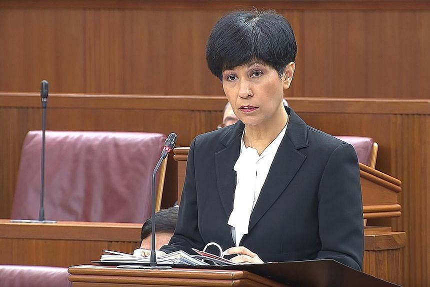 SENIOR MINISTER OF STATE FOR LAW INDRANEE RAJAH