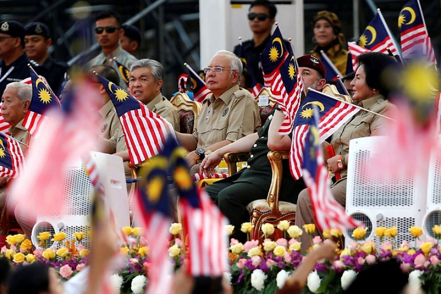 Malaysia's ruling Barisian Nasional is expected to face a tough election battle due to public unhappiness over government scandals and cost-of-living issues.