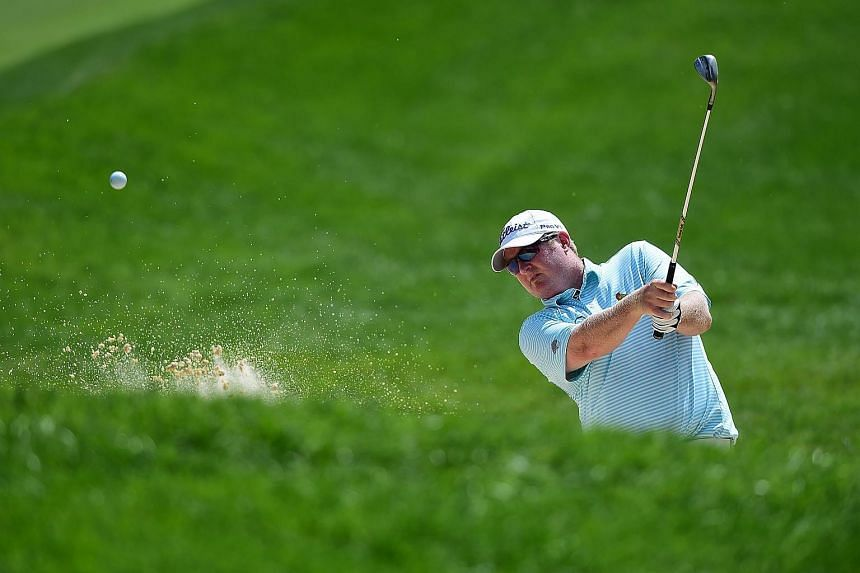 Canadian golfer Brad Fritsch was suspended by the PGA for a doping violation which he reported himself.