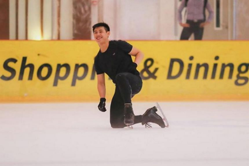 Chadwick Wang scored 119.96 points to finish third in the Junior Men's category at the FBMA Trophy in Abu Dhabi.