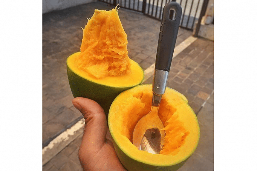 Dubbed the mango-avocado, the variety is said to be softer than either fruit in its name.