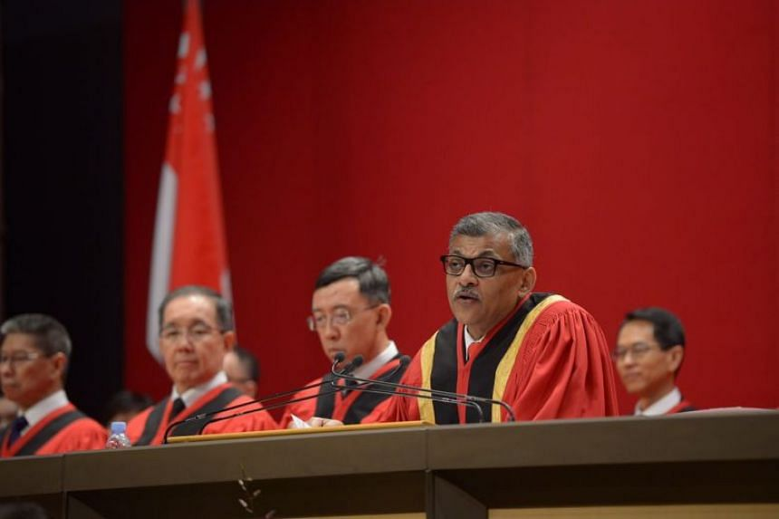 The voluntary accreditation scheme is meant to raise standards by recognising professional excellence, said Chief Justice Menon.