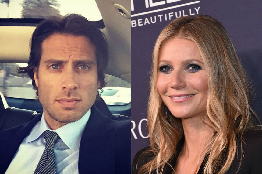 Actress Gwyneth Paltrow (right) and television producer Brad Falchuk have been dating for about two years.