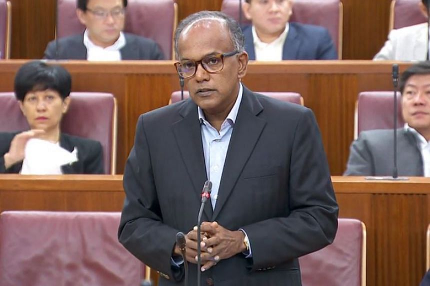 Home Affairs and Law Minister K. Shanmugam told Parliament that a committee had been set up in July 2016 to carry out the review of the Penal Code.