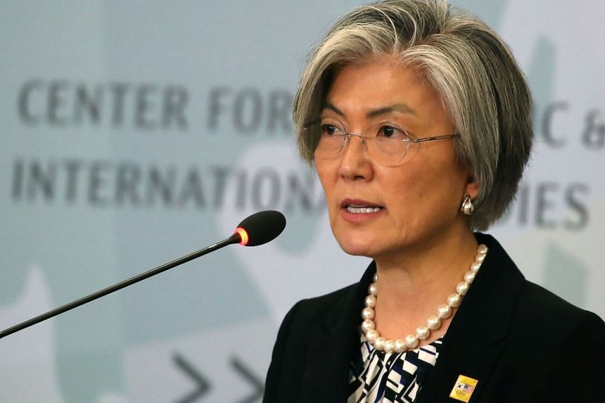 """South Korean foreign minister Kang Kyung Wha said the government """"will not demand renegotiation of the deal""""."""