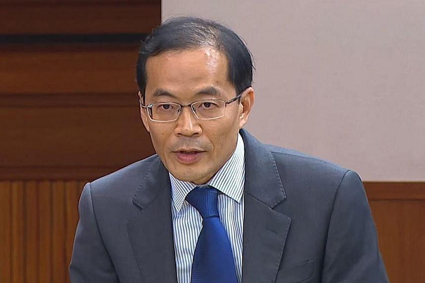 Non-constituency MP Dennis Tan