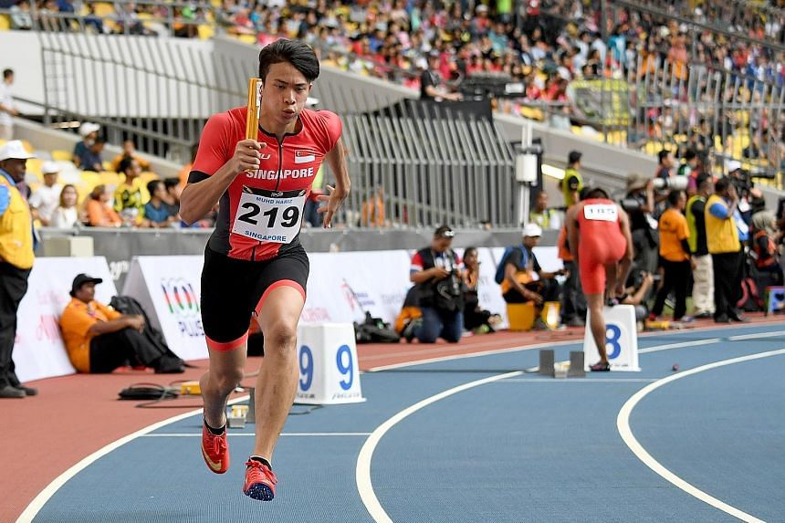 Hariz Darajit was Singapore's 4x100m lead runner at last year's SEA Games in Malaysia where they were sixth. After surgery, he will be out of action for between six and nine months and the team will have to find a replacement in attempting to qualify
