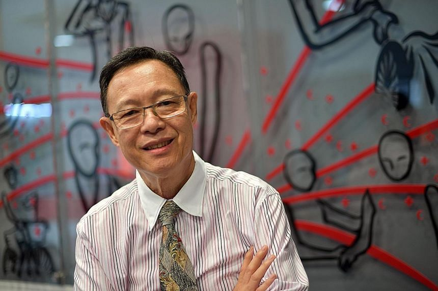 Mr Robert Chew has donated blood 183 times and hopes to continue doing so as long as doctors give him the green light. Meanwhile, he keeps himself healthy so he can keep donating blood.