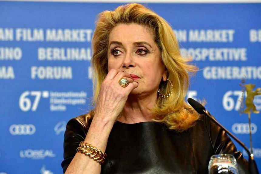 """Catherine Deneuve was among the French actresses who denounced the #MeToo movement, calling it """"puritanism"""" and fuelled by a """"hatred of men""""."""