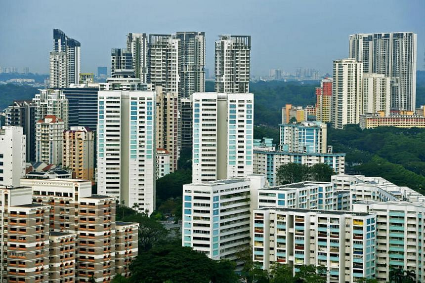 HDB rents fell 0.6 per cent in December from November.