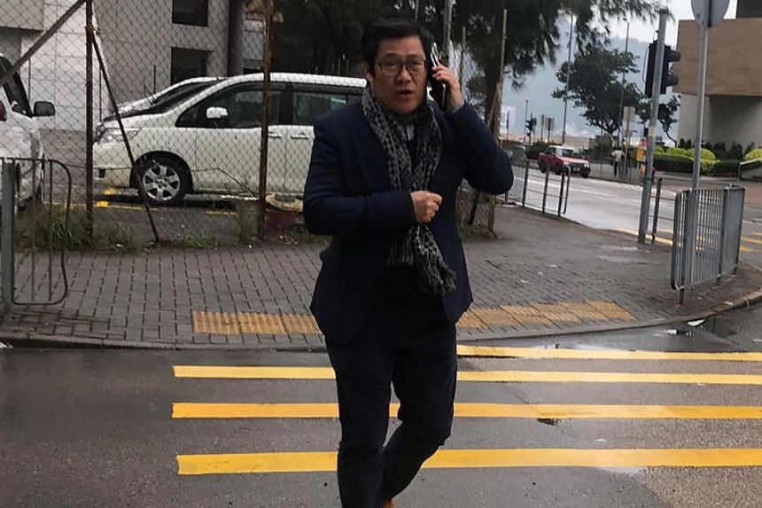 Lau Sai Yuan pleaded guilty to illegal ivory possession and was fined HK$8,000 (S$1,366) on Jan 9, 2018.