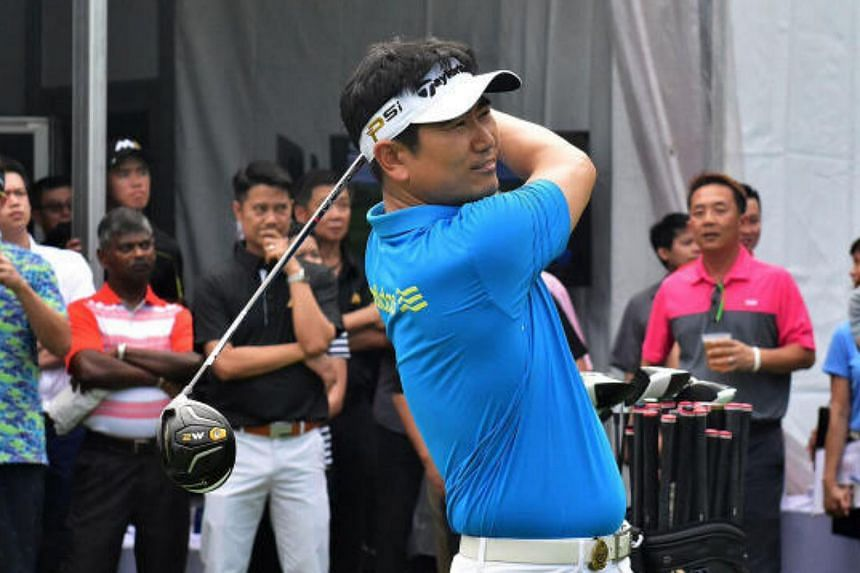 South Korean golfer Yang Yong Eun had defeated Tiger Woods to win the 2009 PGA Championship, after rallying from two strokes behind entering the final round.