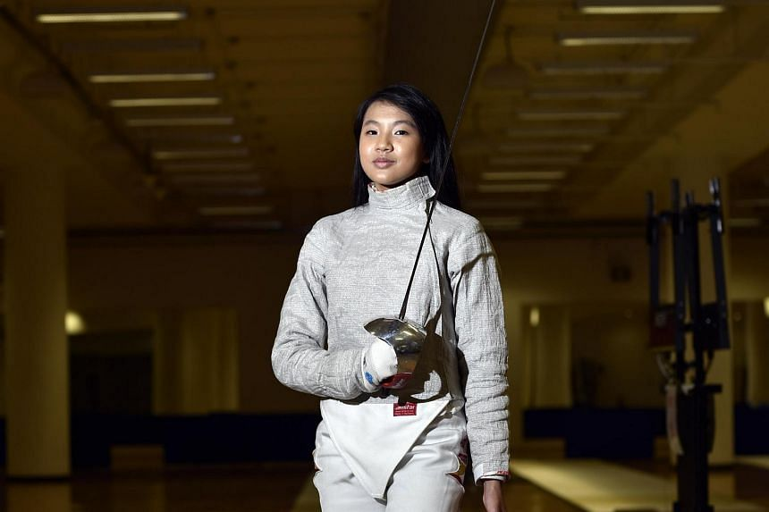 National fencer Lau Ywen has been accepted to Stanford University in the United States on academic merit.