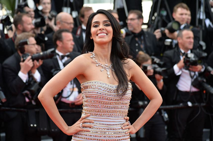 Sherawat in 2016 at the opening of the 69th Cannes Film Festival.