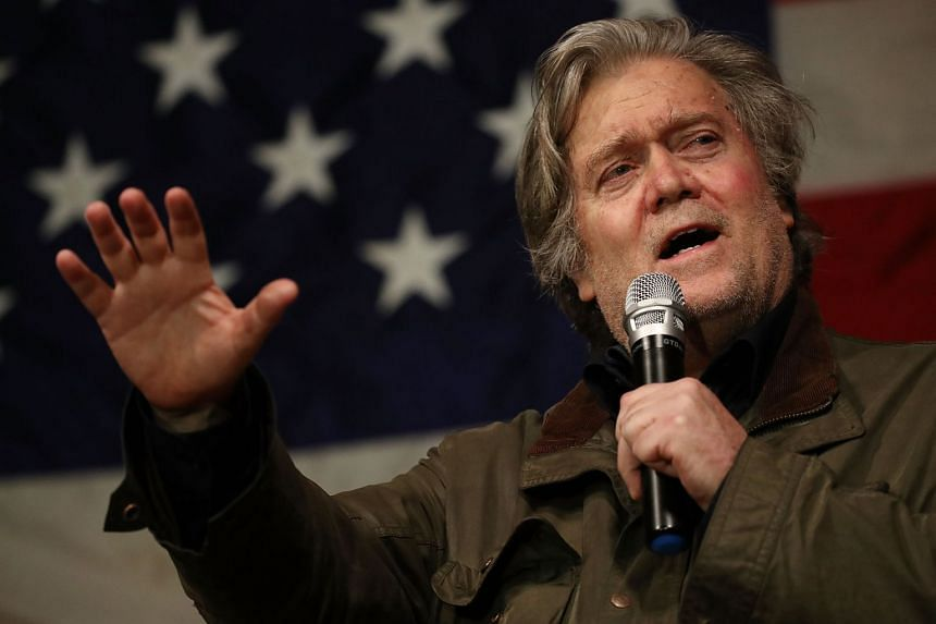 Former White House chief strategist Bannon was quoted in a book criticising Donald Trump.