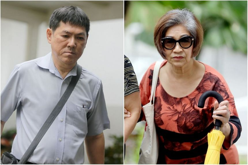 Nah Hak Chuah (left) admitted to 30 of 1,280 charges of falsifying accounts over a 10-year period, while Ivy Cheo Soh Chin pleaded guilty to 20 of 303 charges of money laundering.