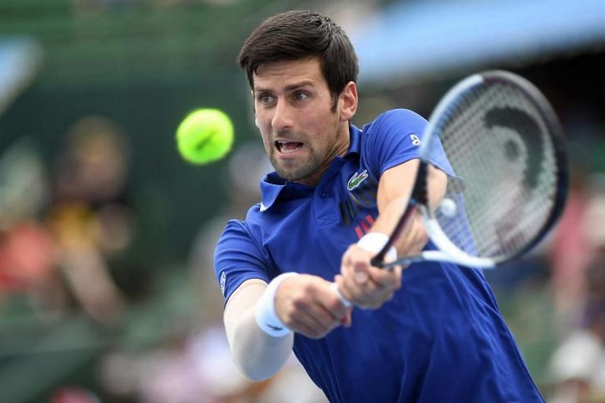 Novak Djokovic previously pulled out of a tournament in Abu Dhabi due to problems with his right elbow.