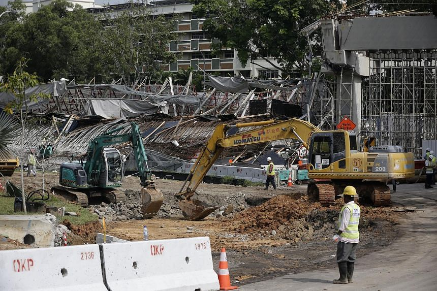 Six months after a road viaduct collapsed in Upper Changi Road East, investigations into the accident, which killed one worker and injured 10 others, have not been completed.