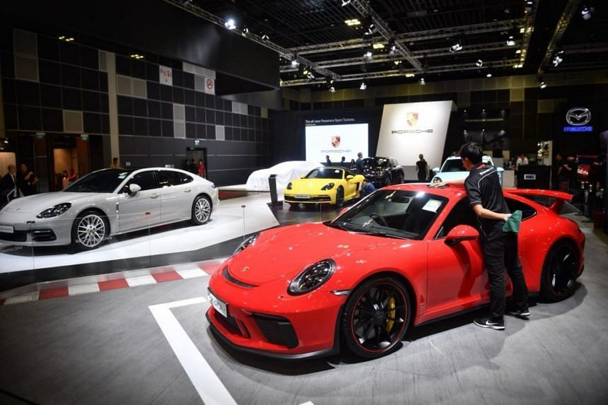 Singapore Motorshow Opens With Over New Car Model Launches - New car show
