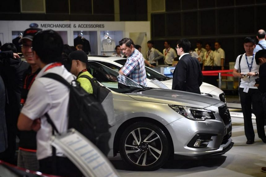 Despite the uncertainty of a new emission tax scheme, there are 25 car brands showing off 170 cars at this year's show.