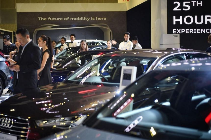 2018's Singapore Motorshow has the most extensive selection of cars since the event started a quarter century ago.