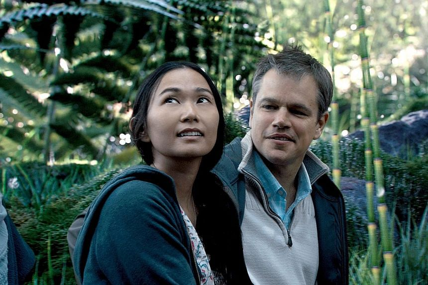Hong Chau plays a Vietnamese dissident, while Matt Damon plays an occupational therapist, in Downsizing.