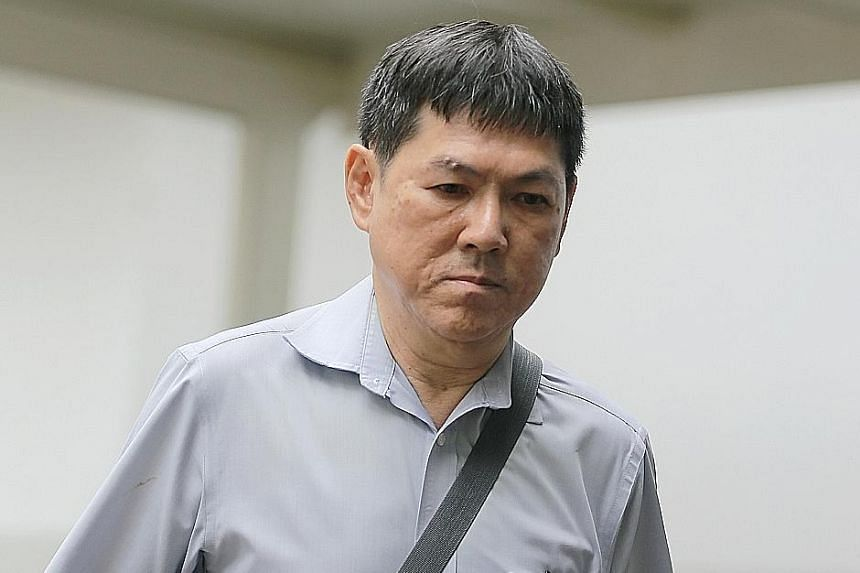 Former supervisor Nah Hak Chuah (left) made false entries in the club's database to enable non-existent memberships to be sold, while club member Ivy Cheo Soh Chin acted as a money mule in the scheme.