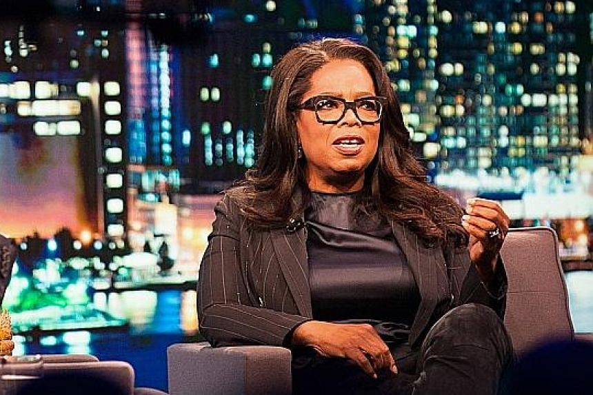 Ms Winfrey's rousing speech at the Golden Globes Awards ceremony ignited speculation that she is harbouring Oval Office ambitions.