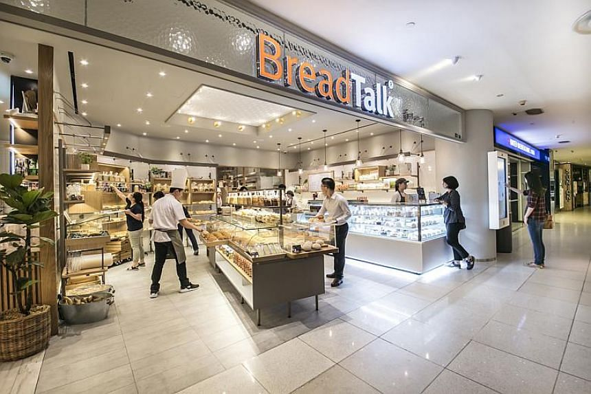 As at end-September, BreadTalk had a net asset value of 56.7 Singapore cents per share.