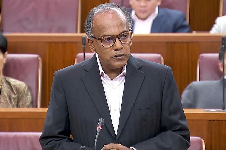 The burst of ideas by Members of Parliament on ways to tackle the growing scourge of deliberate falsehoods posted online came after a move by Law Minister K. Shanmugam to get parliamentary permission to assemble a Select Committee to analyse the issu