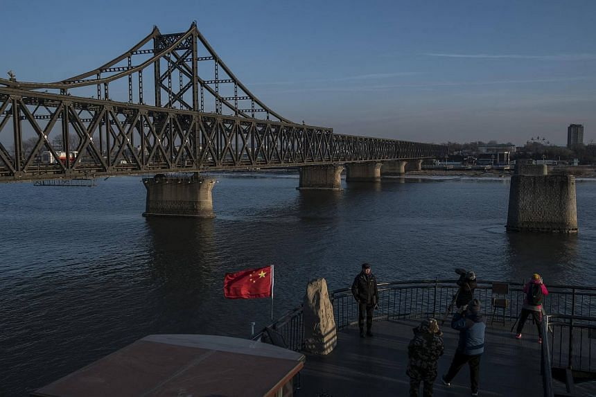 The Friendship Bridge to North Korea in Dandong, China, the city where businesswoman Ma Xiaohong conducted trade that American officials say violated international sanctions.