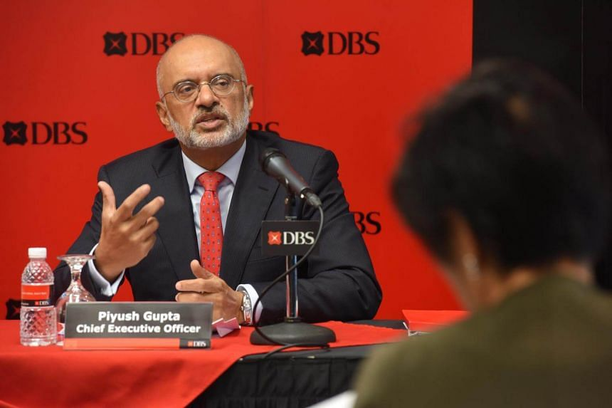 With stock markets now in the midst of a nine-year bull run, investors will be skittish and it will not take much to trigger corrections, DBS chief executive Piyush Gupta said.