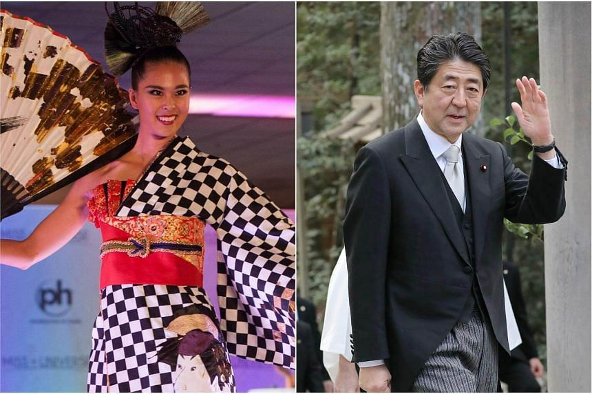 "Shinzo Abe has finally revealed the ""national secret"" of his best golf score, in a good-natured brag to Japan's Miss Universe representative Momoko Abe, 23, during a courtesy call at his office."