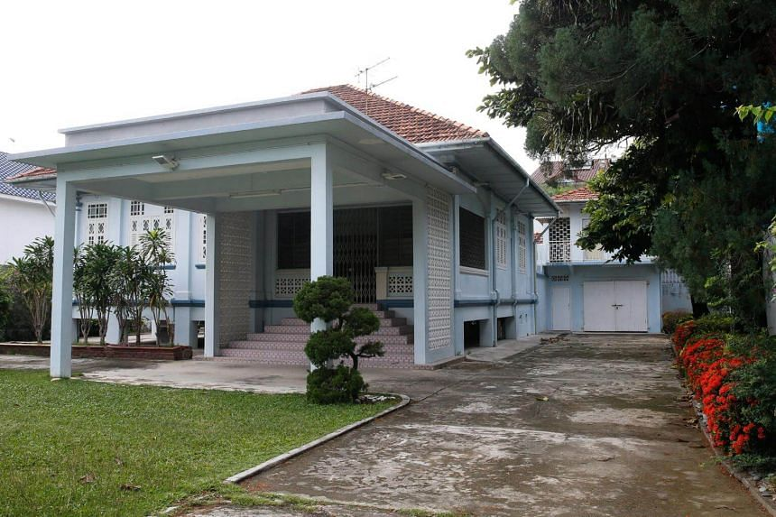 The Branksome Road family home of Swee Kee chicken rice shop founder in Katong, which was sold for $16 million in 2015.