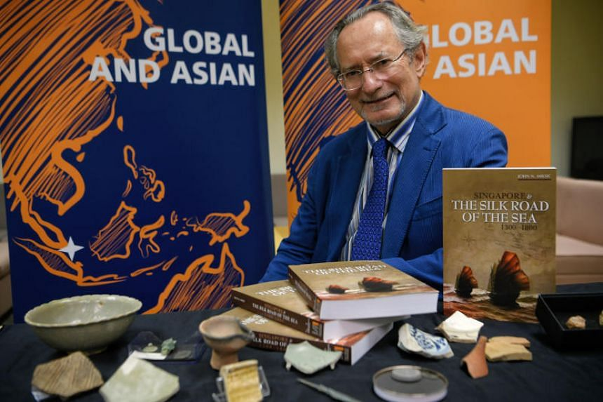 Professor John N. Miksic was awarded the prize given out by the National University of Singapore on Jan 11, 2018.