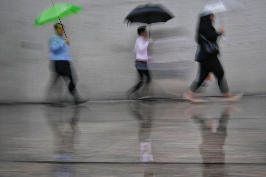Singapore experiences between two and four monsoon surges each year on average, occuring mostly between the months of December and March.