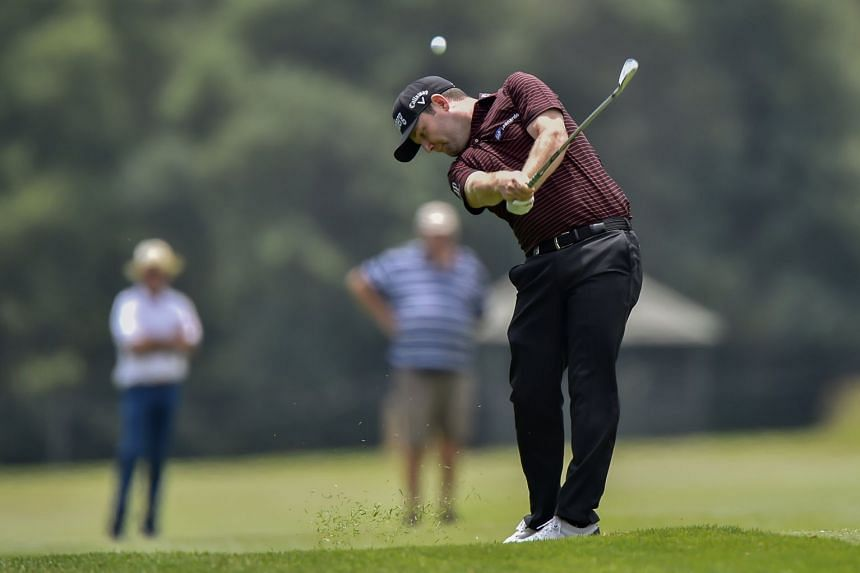 Branden Grace plays a shot during Day 1 of the BMW SA Open Golf Championship.