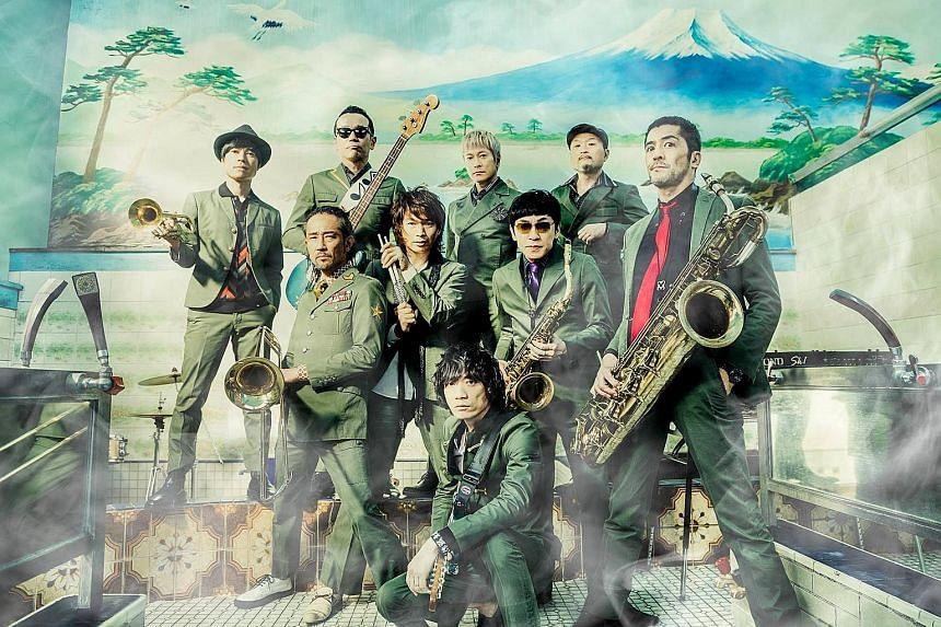 Japan's Tokyo Ska Paradise Orchestra