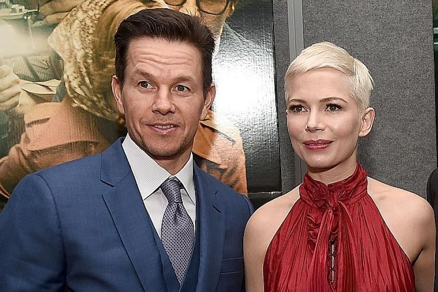 Mark Wahlberg was paid US$1.5 million for a reshoot of All The Money In The World, while Michelle Williams was paid less than US$1,000.