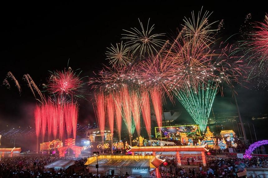 This year's edition of River Hongbao will see 11 consecutive nights of fireworks and laser light shows from Feb 14 to 24. It will also feature its biggest exhibition yet - My Home, My New Year - which allows visitors to experience how Singaporeans ha