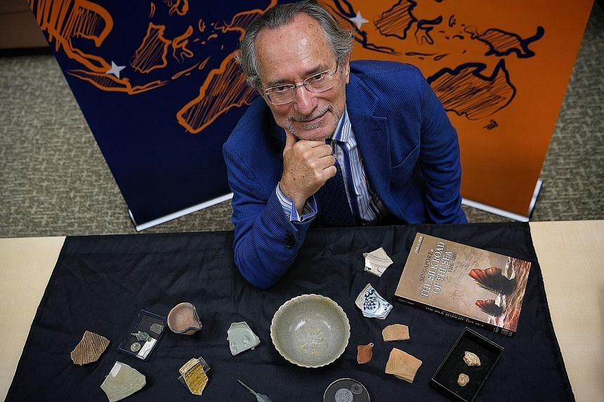 Professor John N. Miksic was the first person to conduct an archaeological dig in Singapore, in 1984.