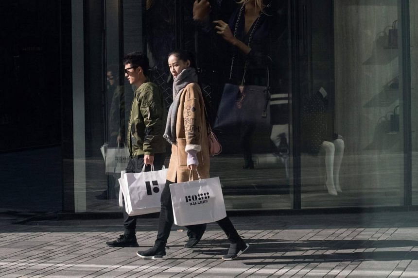 In 2018, retail sales in China are expected to equal or surpass sales in the United States for the first time.