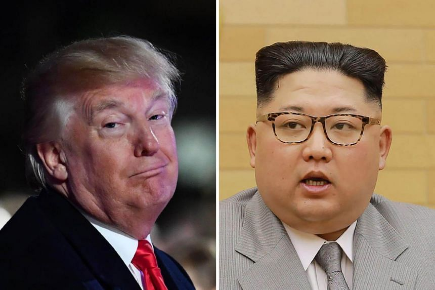 """US President Donald Trump has derided North Korean leader Kim Jong Un as a """"maniac"""" and referred to him as """"little rocket man""""."""
