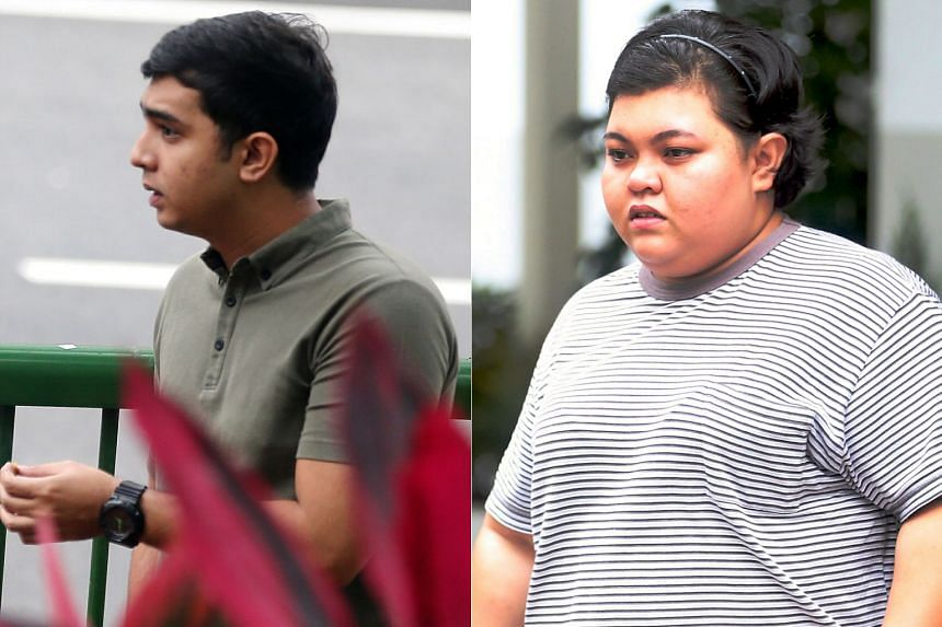Rausyan Sajjad Mohamad Rafie and his sister Shaqilah admitted to two charges each of abetment by conspiracy with a man to dishonestly receive more than $400,000 derived from scam proceeds.