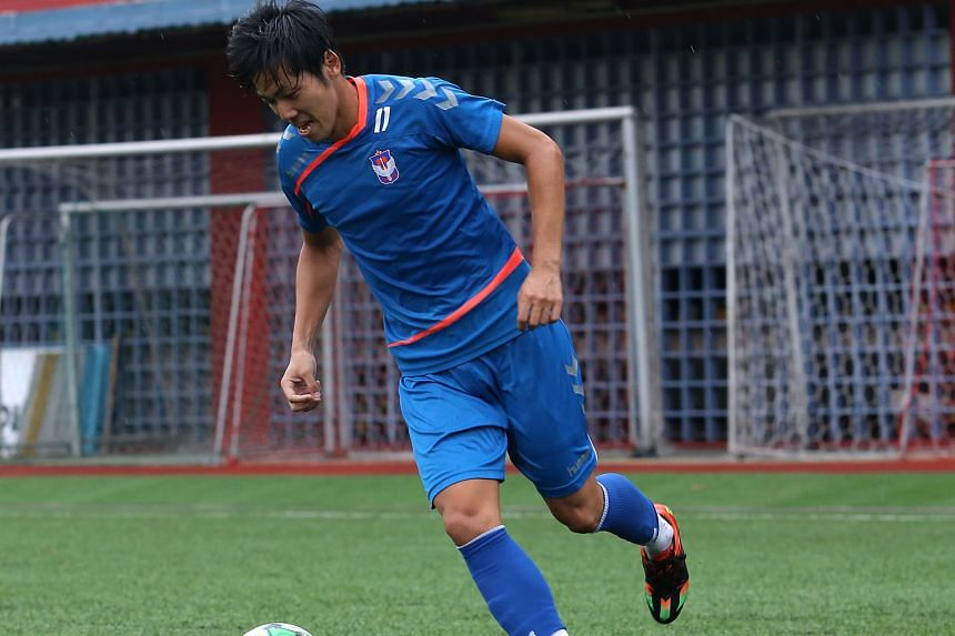 Former Albirex Niigata midfielder Tatsuro Inui is one of nine players on trial at Brunei's DPMM FC. The club remains locked in discussions with the Football Association of Singapore over the number of foreigners it can sign for the 2018 S-League seas