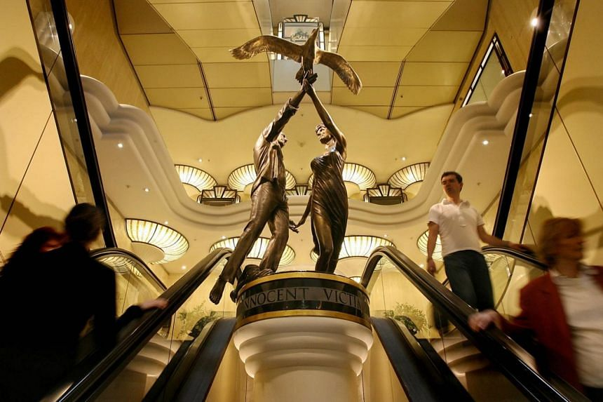 Harrods' former owner Mohamed Al Fayed commissioned the bronze statue, which shows his son Dodi Al Fayed and Princess Diana holding hands and releasing a bird, after they were killed in a Paris car crash in 1997.