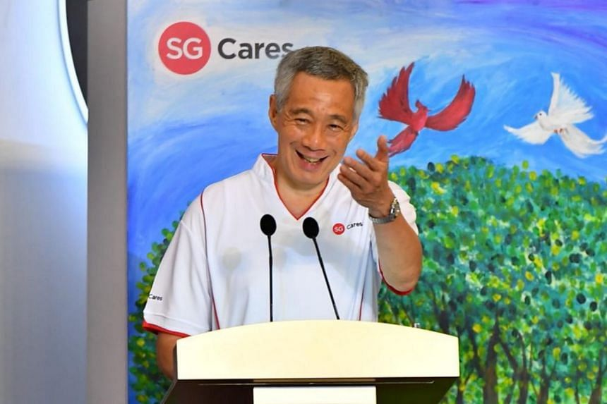 Prime Minister Lee Hsien Loong said he hopes SG Cares can help to bring forth a caring society where no Singaporean is left behind.